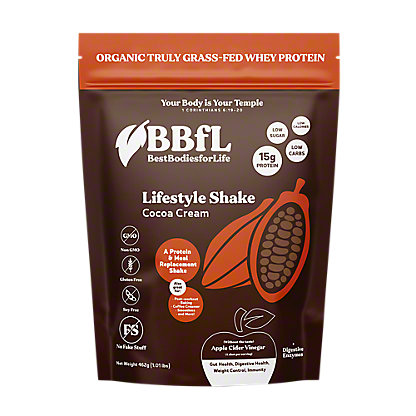 BestBodiesforLife Cocoa Cream Protein Shake, 420 g