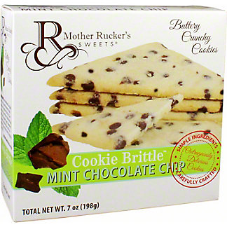 Mother Rucker's Sweets Cookie Mint Chocolate Chip Brittle, 7 oz