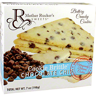 Mother Rucker's Sweets Cookie Brittle Chocolate Chip Cookie, 7 oz