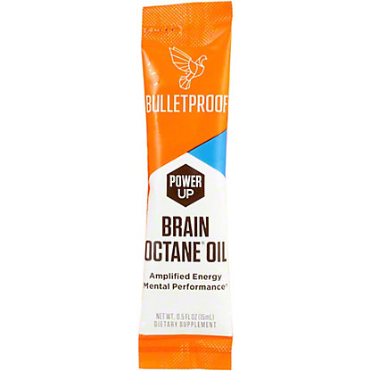 Bulletproof Brain Octane Go Pack Single, 1 oz