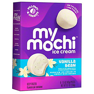 My Mo Vanilla Bean Mochi, 6 ea