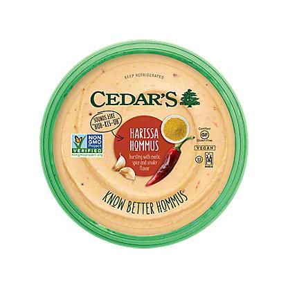 Cedars Harissa Hummus, 8 OZ