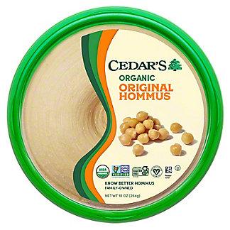 Cedars Organic Original Hummus, 10 OZ