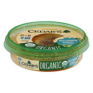 Cedars Organic Mediterranean Hommus, 10 OZ