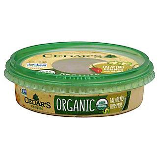 Cedars Organic Jalapeno Hummus, 10 OZ