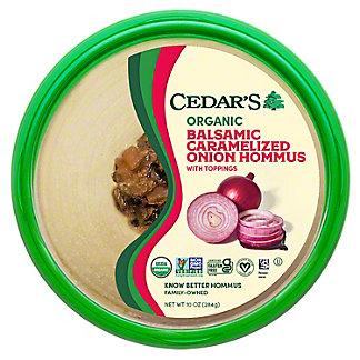 Cedars Organic Carmelized Onion Hummus, 10 OZ
