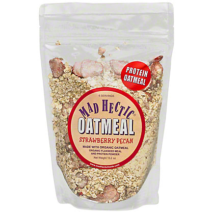 Mad Hectic Protein Oatmeal Strawberry Pecan, 13.2 oz