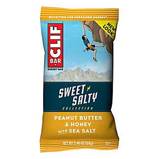 Clif Sweet & Salty Peanut Butter & Honey Sea Salt Energy Bar, 2.4 oz