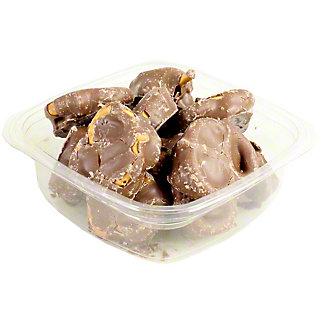 Nassau Caramel Sea Salt Pretzel Milk Chocolate, lb