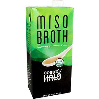 Oceans Halo Broth Miso, 32 oz