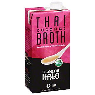 Oceans Halo Organic Broth Thai Coconut, 32 oz