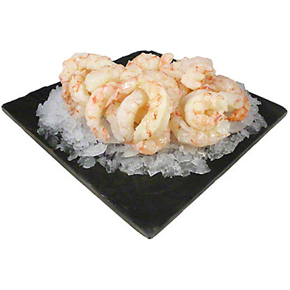 Raw Argentine Red Shrimp 16/20 CT. Peeled & Deveined Tail-off, LB