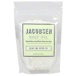 Jacobsen Salt Flake Finishing Salt, 4 oz