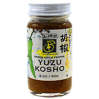 Yakami Orchard Green Yuzu Kosho Paste, 2 oz