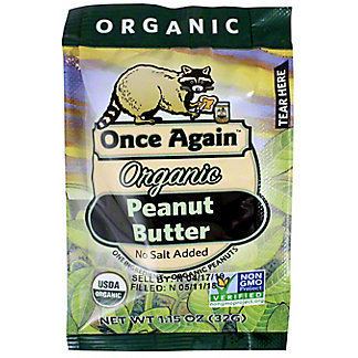 Once Again Organic Squeeze Peanut Butter, 1.15 OZ