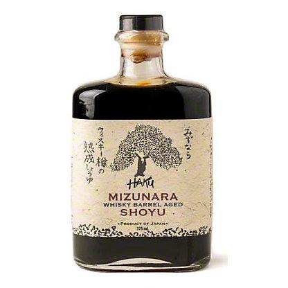 Haku Mizunara Whisky Barrel Aged Shoyu, 12.68 oz