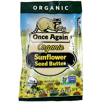 Once Again Organic Squeeze Sunflower Butter, 1.15 OZ