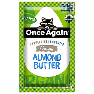 Once Again Organic Squeeze Almond Butter, 1.15 oz