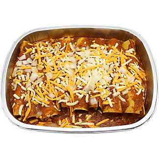 Central Market Cheese Enchilada Casserole with Chili Gravy, ea
