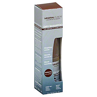 Mineral Fusion Dry Shampoo Medium Dark, .81 oz