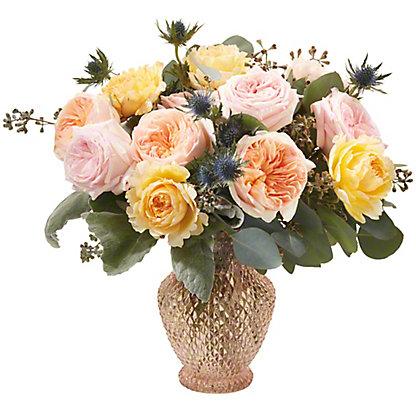 Central Market Garden Rose Deluxe Vase Arrangement, ea