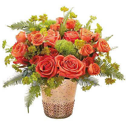 Central Market Avant- Garde Roses Vase Arrangement, ea