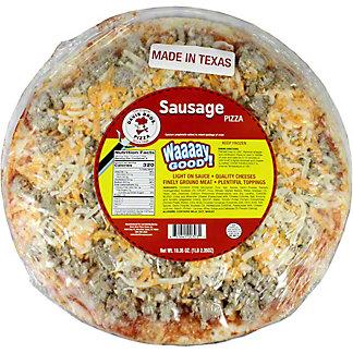 Davis Bros. Pizza Sausage Pizza, 12 in