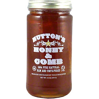 Hutton's Honey Raw Honey & Comb, 16 oz