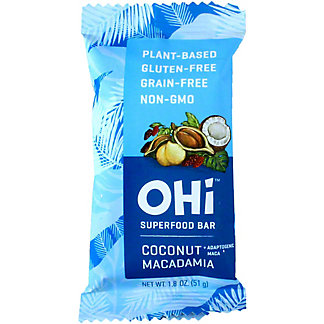 Ohi Bar Coconut Macadamia, 1.8 oz