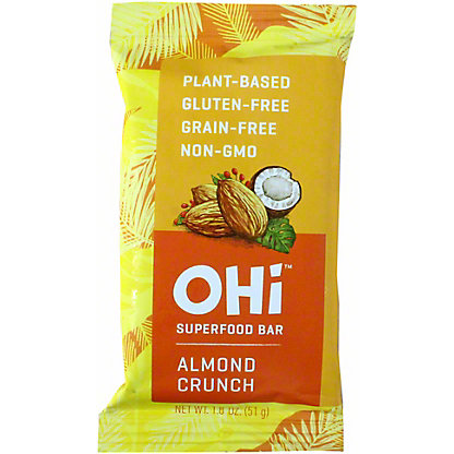 Ohi Bar Almond Crunch, 1.8 oz
