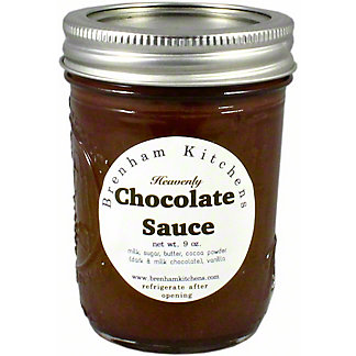 Brenham Kitchens Chocolate Sauce, 9 oz