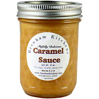 Brenham Kitchen Caramel Sauce, 9 oz
