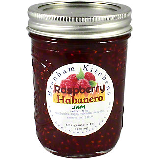 Brenham Kitchen Raspberry Habanero Jam, 9 oz