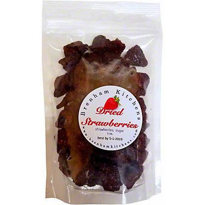 Brenham Kitchen Dried Strawberry, 7 oz