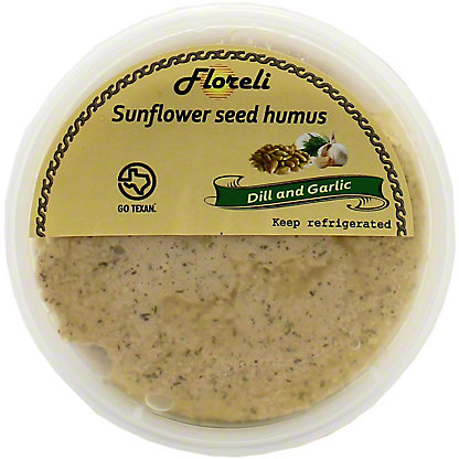 Floreli Foods Dill And Garlic Hummus, 8 OZ