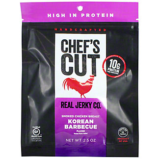 Chefs Cut Korean BBQ Chicken, 2.5 OZ