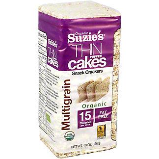 Suzies Rice Cakes Whole Grain Multigrain, 4.9 oz