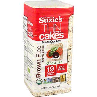 Suzies Rice Cake Brown Rice Puffed, 4.9 oz
