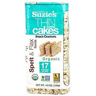 Suzies Rice Cake Puffed, 4.6 oz