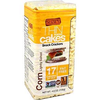 Suzies Corn Cakes Puffed Salt, 4.6 oz