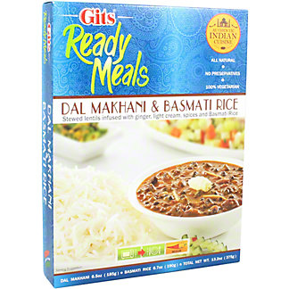 Gits Ready Meals Dal Makhani & Basmati Rice, 13.2 oz