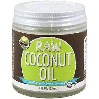 Dignity Raw Coconut Oil, 4 OZ