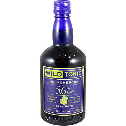 Wild Tonic Jun Kombucha Hoppy Buzz, 16 oz