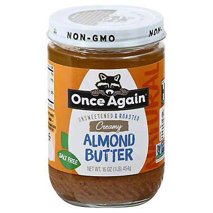 Once Again Once Again Almond Butter Smooth No Salt, 16 oz