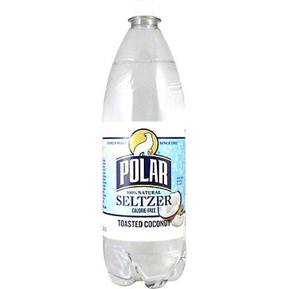 Polar Toasted Coconut Seltzer, 33.8 oz