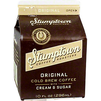 Stumptown Cold Brew With Milk, 10 OZ