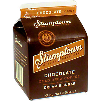 Stumptown Chocolate Cold Brew With Cream and Sugar, 10 OZ