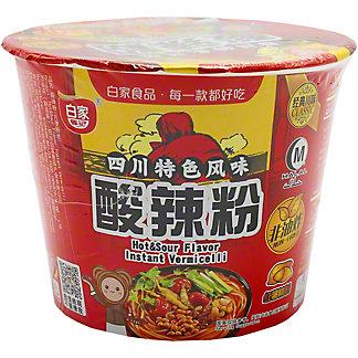 Baijia Vermicelli Hot & Sour Bowl, 3.7 oz