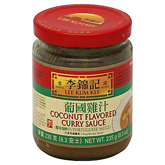 Lee Kum Kee Coconut Flavored Curry Sauce, 8.30 oz