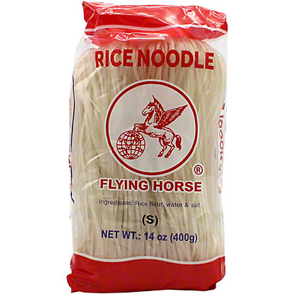 Flying Horse Rice Noodle S, 14 oz
